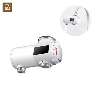 Image 1 - Youpin Xiaoda 인스턴트 난방 수도꼭지 전기 온수기 30 50 ° c LED 디지털 빛으로 차가운 따뜻한 조절 방수 수도꼭지