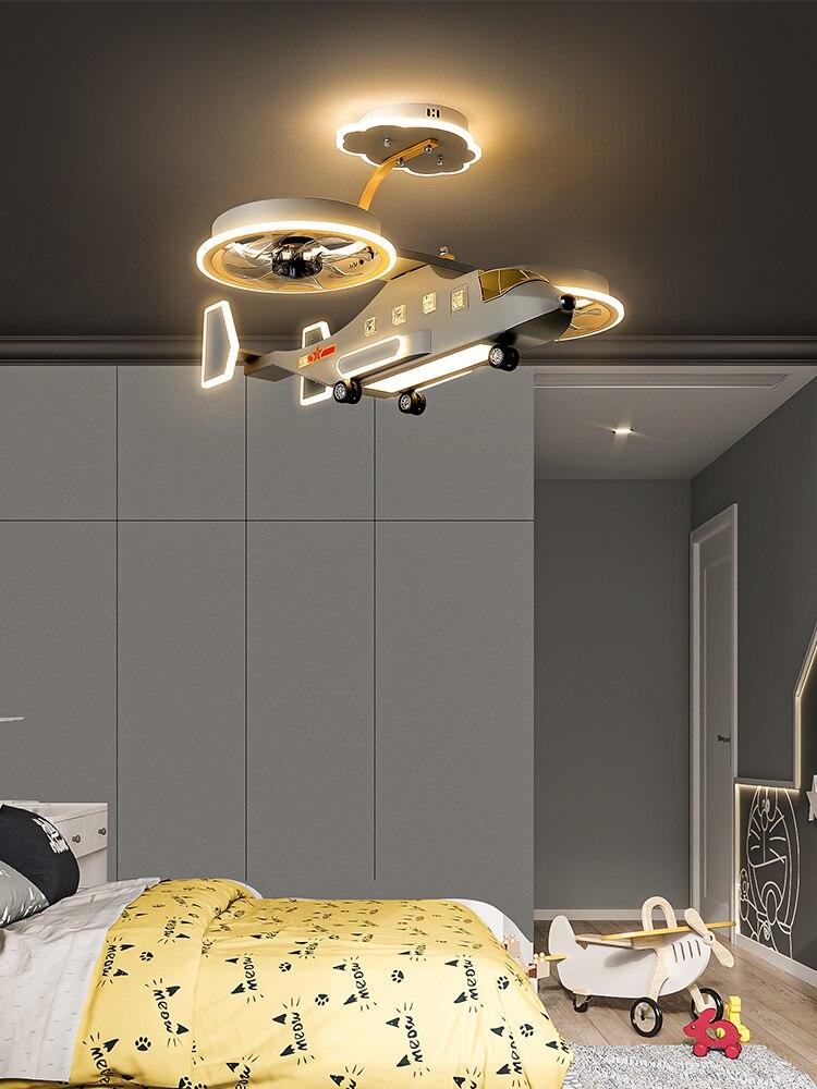quarto luminaria plafonnier iluminacao dos desenhos animados 05
