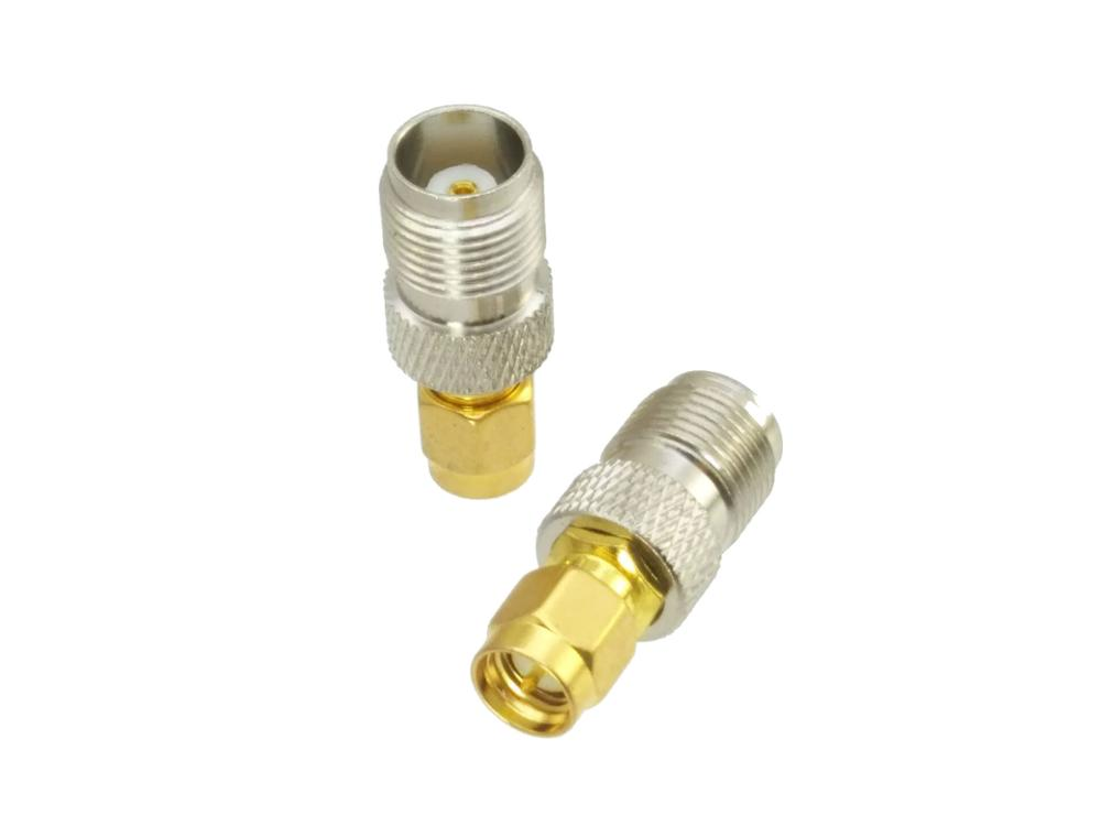 TNC Female Jack To SMA Male Plug RF Coaxial Adapter Connector
