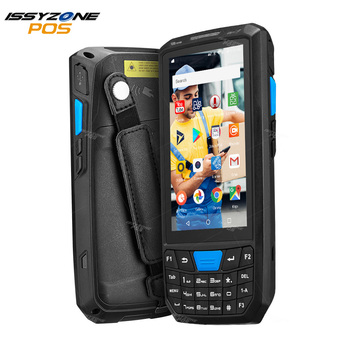 ISSYZONEPOS 4G Handheld PDA Android 8.1  POS Terminal Touch Screen 2D Barcode Scanner Wireless Wifi Bluetooth GPS Barcode Reader haina touch 15 inch touch screen dual screen pos terminal with nfc card reader