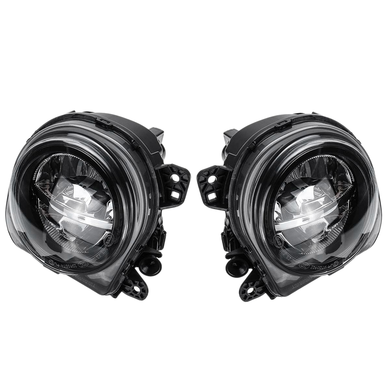 DHBH 1 Pair LED Light Car Front Fog Light Lamp LED with LED Bulds for BMW 5 Series F07 F10 GT F11 F18 LCI 535I 528I 550I 2013 20
