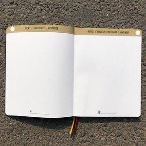 Image 5 - B5 Lớn Hơn Kích Thước 7X9 Inch Mềm Mại Cảm Ứng Bao Bao Lưới Dot Tạp Chí Nhỏ Hơn Chấm 160 Trang 160Gsm Cực giấy