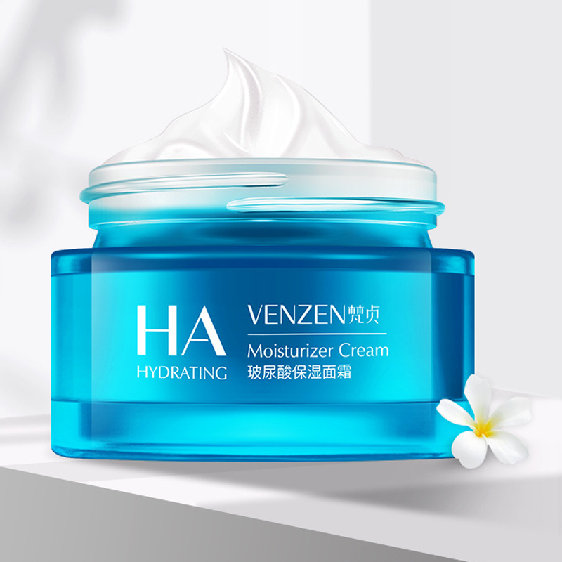 Hyaluronic Acid Moisturizing Face Cream Whitening Female Facial Cream Moisturizer Skin Care Day And Night Whitening Cream