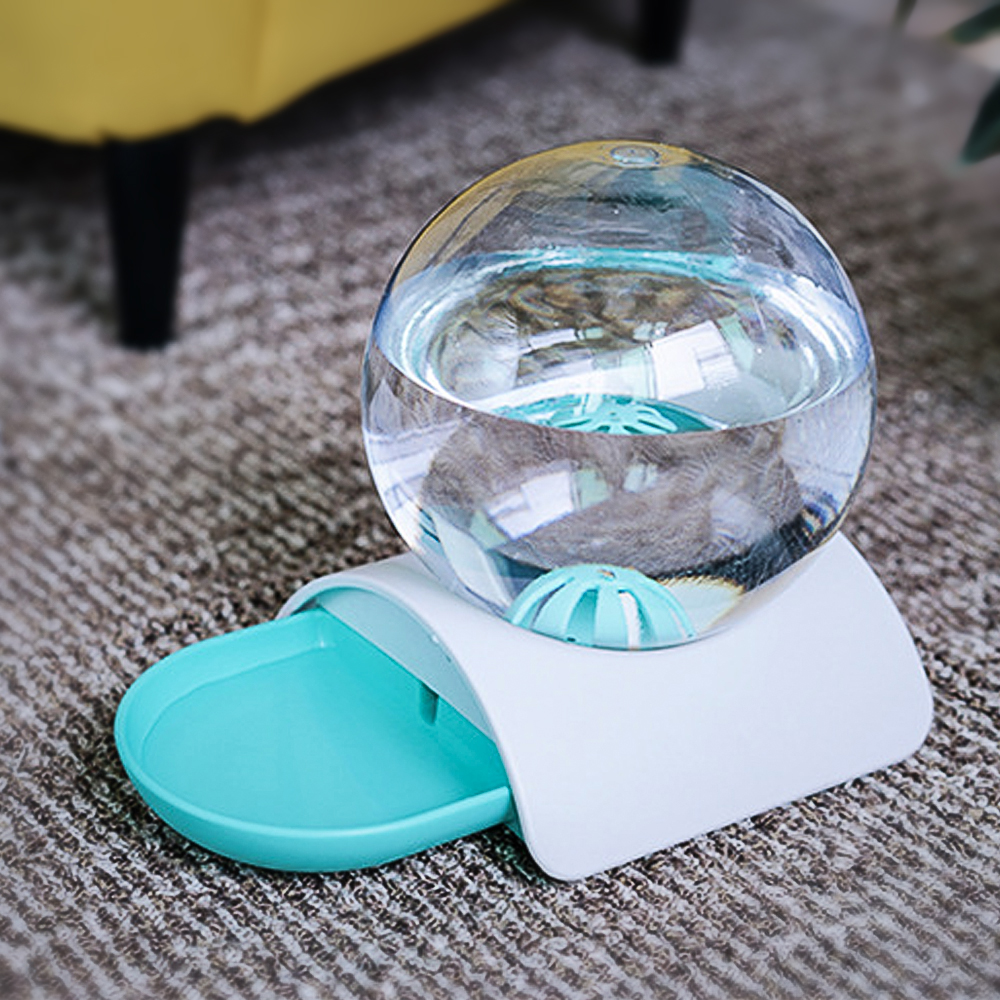 Cat Dog Feeder Fountain Bubble Large Drinking Bowl Pet Automatic Cats Water Fountain For Cat Pets Water Dispenser No Electricity 2
