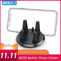 MEIDI Universale Supporto Del Telefono Mobile 360 Girevole Cruscotto Dell'automobile di GPS Desktop Del Basamento Anti Slip Staffa per il iPhone 5s 6 samsung