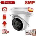 Anpviz 8MP 4K POE IP Camera Outdoor Onvif Night Vision 30m Video Surveillance Hikvision OEM IP67 Support 256GB Storage H.265+
