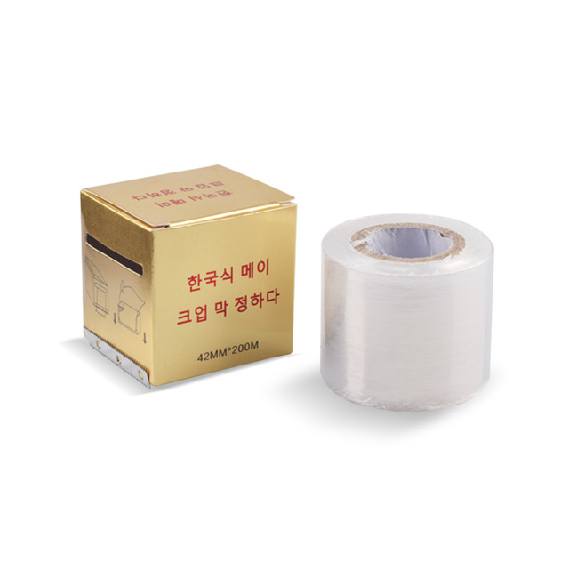 1 box Microblading Clear Plastic Wrap Preservative Film for Permanent Makeup Tattoo Eyebrow Tattoo Accessories 1