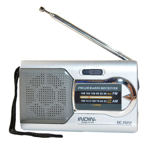 Image 3 - Battery Powered Ourtdoor Portable AM/FM Telescopic Antenna Radio Pocket Stereo Receiver AM FM radio for the elderly