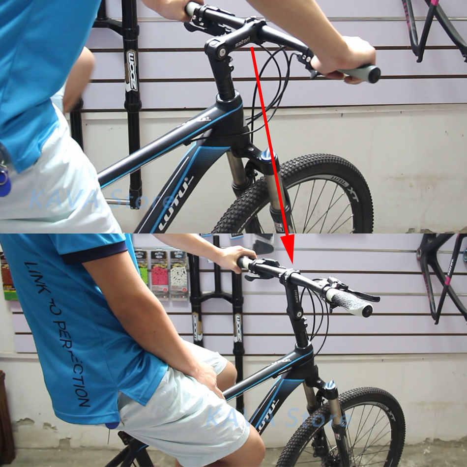 SATORI Adjustable Height Riser Stem Bicycle 31.8mm Mountain Bicycle UP2 BMX Bike