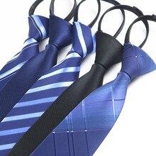 Tie Suits Necktie Pre-Tied Wedding Party Men Fashion Luxury for Formal Narrow Noble-Line