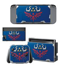 The Legend of Zelda Skin Sticker Vinyl for Nintendo Switch stickers skins for Nintend Switch NS Console and Joy Con Controllers
