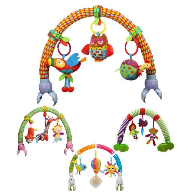 المحيط الغابات السماء عربة طفل مشبك سيارة مخرطة معلقة مقعد و عربة لعب طفل تحلق الحيوان لعبة تعليمية للإزالة 20% Off
