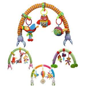 Image 1 - Océan forêt ciel bébé poussette voiture pince tour suspendu siège & poussette jouets enfant volant Animal jouet éducatif amovible 20% de réduction