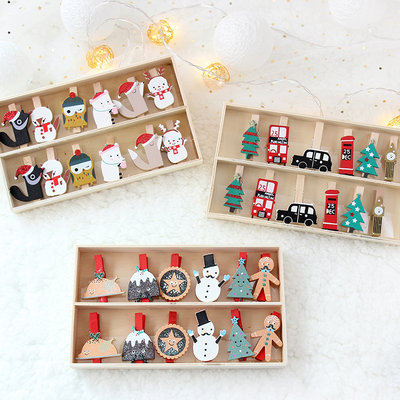 Magical Express PinPals Gift or Tree clips stocking