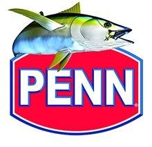 Наклейка для PENN, наклейка, ярлык для ловли тунца, соленой воды, винтажный механический ящик, США