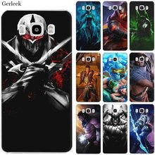 Mobile Phone Case for Samsung S7 Edge S8 S9 S10 S10e Note 8 9 10 Plus M10 M20 M30 M40 Cover League of legends(China)