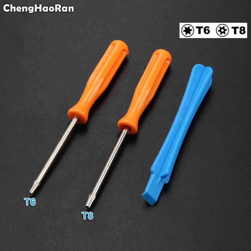 Chenghaoran Pembukaan Membongkar Bagian Perbaikan Alat Kit T8 T6 Obeng untuk XBOXone/S Slim/Elit PS3 PS4 Gamepad controller