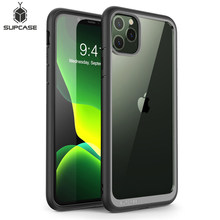 For iphone 11 Pro Max Case 6.5 inch (2019 Release) SUPCASE UB Style Premium Hybrid Protective Bumper Case Clear Back Cover Caso(China)
