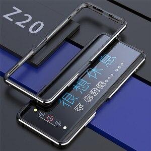 Image 4 - Étui de protection solide de bord de cadre en métal pour Nubia Z20 accessoires housse de téléphone antichoc coque de cadre de pare chocs pour Nubia Z20