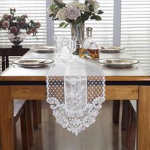 Современный кружевной обеденный стол runner Роскошный домашний