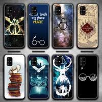 Los alfareros de Harries caso de teléfono para Samsung Galaxy A52 A21S A02S A12 A31 A81 A10 A30 A40 A50 A70 A80 A71 A51 5G