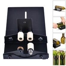Glass Bottle Cutter Cutting Tool Wine Beer Glass Sculptures Cutter for DIY Glass Cutting Machine Metal Pad Bottle Holder