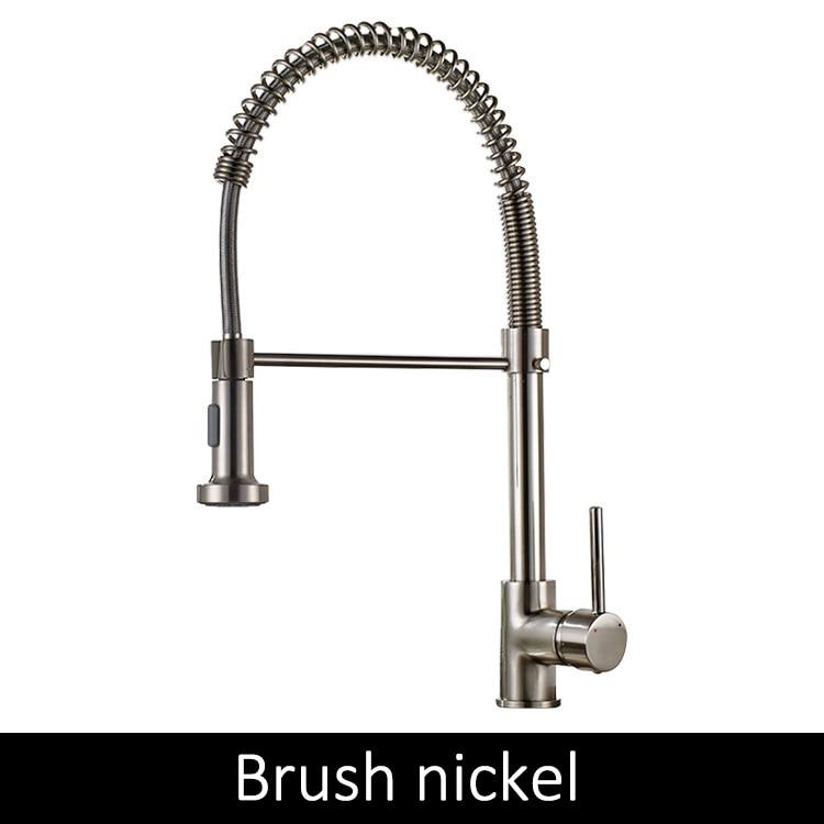 Brush nickel