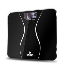 SDARISB весы для ванной, напольные, умные, электрические, цифровые весы, весы для здоровья, закаленное стекло, ЖК-дисплей, 180 кг/50 г