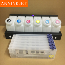 CISS use for Roland/Mimaki/Mutoh and othe printer 6 ink bottle with 12 ink cartridge