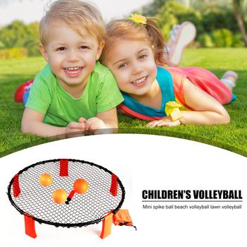 Dzieci minitrawa piłka do siatkówki zabawki sportowe wypoczynek na świeżym powietrzu Spike gra z piłkami do ćwiczeń na świeżym powietrzu ozdoby sportowe tanie i dobre opinie VKTECH CN (pochodzenie) Volleyball Siatkówka plażowa
