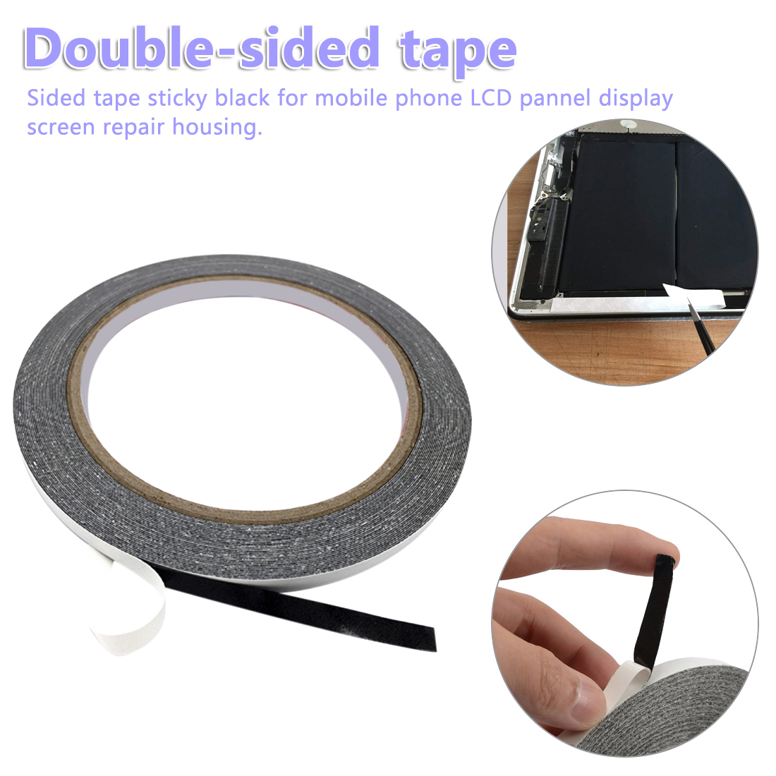 Double Side Adhesive Tape Sticker Fix For Cellphone Touch Screen LCD Mobile Phone Repair Tape 2mm 3mm 5mm 8mm