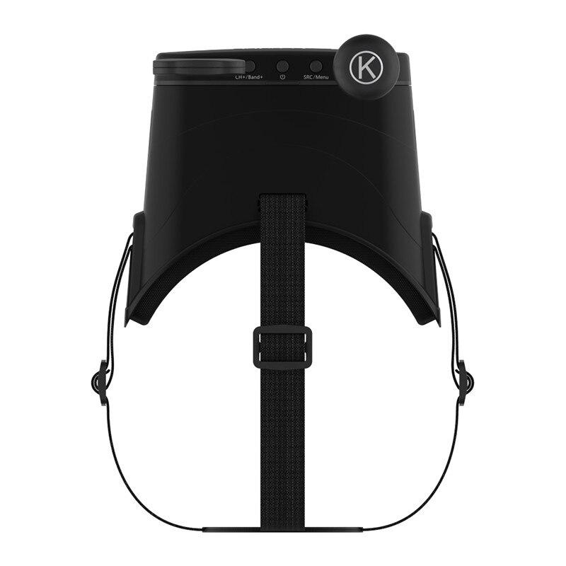 Gafas de protección Eachine EV800DM Varifocal 5,8G 40CH Diversity FPV con HD DVR 3 pulgadas 900x600 auriculares de vídeo con batería incorporada - 6