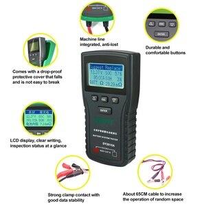 Image 3 - DY2015A 12V 24V רכב סוללה בודק כלים עופרת חומצה CCA עומס סוללה תשלום מבחן דיגיטלי רכב סוללה קיבולת tester