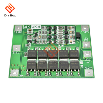 Smart BMS 1S 2S 3S 4S 5S 6S 7S 25/30/40/60A equalizer balancing 18650 Lithium Battery Charger Protection Board with balancer diy image