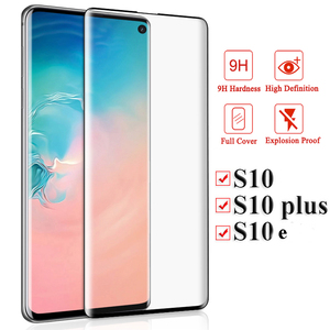 Armor Protective Glass For Samsung Galaxy S10 Plus S10E Note 10 Screen Protector For Note 10plus 10+ S 10 E Safety Glass Film(China)