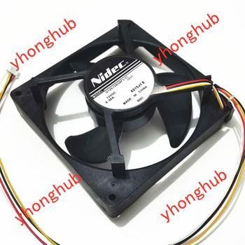 Nidec U12E12BS8F3-57 J232 J231 DC12V 0.06A 125x125x35mm Server Cooling Fan