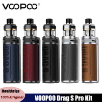 Original VOOPOO arrastrar S Pro Kit 80W 3000mah Mod caja Vape batería 5,5 ml TPP X Pod ajuste TPP PnP bobinas cigarrillo electrónico vaporizador