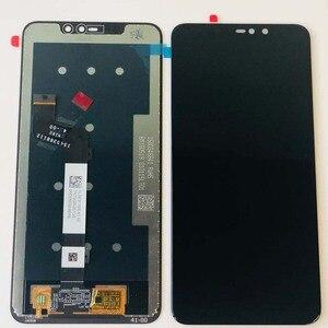 Image 5 - Оригинальный ЖК дисплей 6,26 дюйма для Xiaomi Redmi Note 6 Pro Global, сенсорный экран в сборе, дигитайзер, сенсорный экран, запчасти + 10 точек + рамка