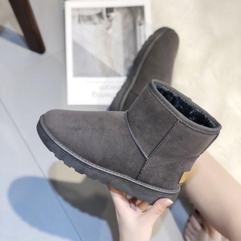 Nouveau Top qualité classique femmes bottes de neige bottines chaudes hiver bottes Femme Chaussures Femme Botas Mujer Bota Feminina