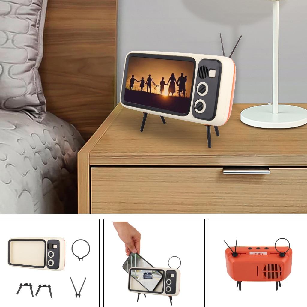 Best Selling 2020 Product Portable Retro Minitv Design Mobile Phone Holder Попсокет Держатель Для Телефона Dropshipping #12