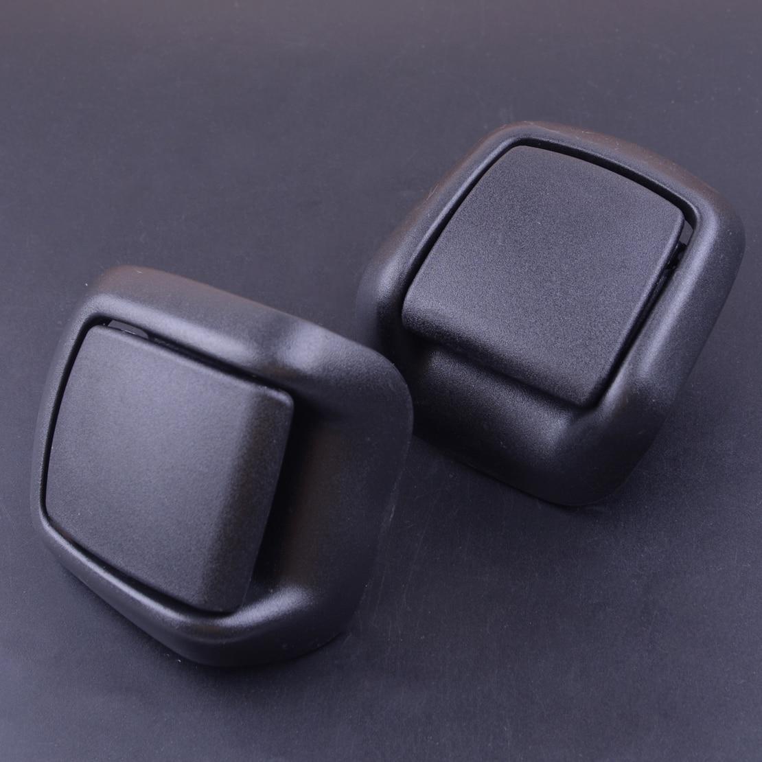Beler 1Pair Plastic Front Right Left Seat Tilt Handle Fit For Ford Fiesta MK6 VI 3 Door 2002-2005 2006 2007 2008 1417520 1417521
