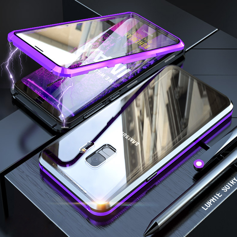 360 Protective Case For Samsung Galaxy S9 Plus Note 9 8 A50 A70 A51 A71 Note9 S8 Note8 S9plus Full Body Phone Magnetic Covers On