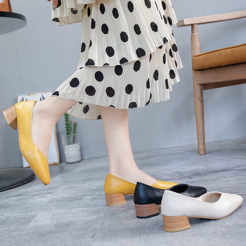 2019 new women's sexy high heels shallow Pointed Toe platform heels fashion wedding party slip-on women's shoes Zapatillas Mujer
