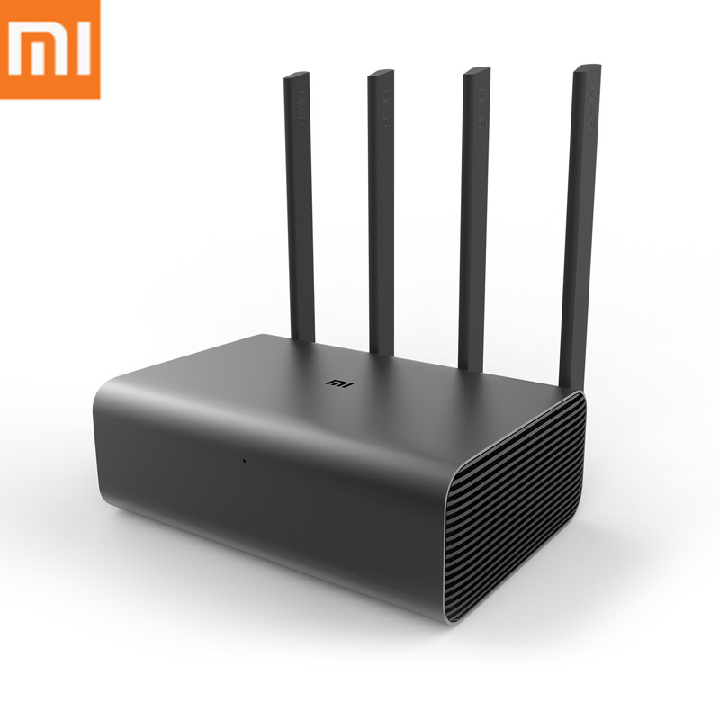 Original Xiaomi HD Router 2600Mbps 1TB HHD Smart Wireless Router HD 4 Antenna 2.4GHz+5.0GHz WiFi Network Device APP Control Pro