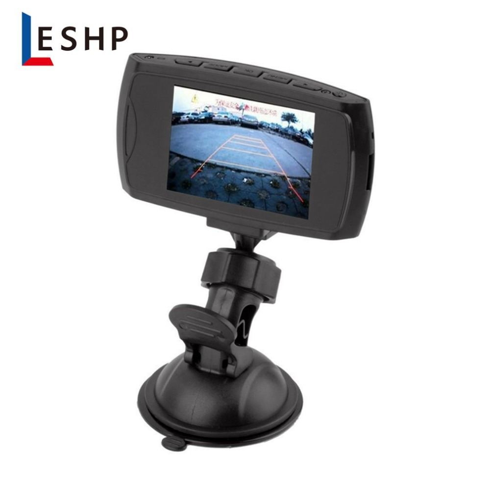 HD 720P Car DVR Camera Dash Cam Video 2.4inch LCD LCD DisplayNight Vision Vehicle Camera Recorder