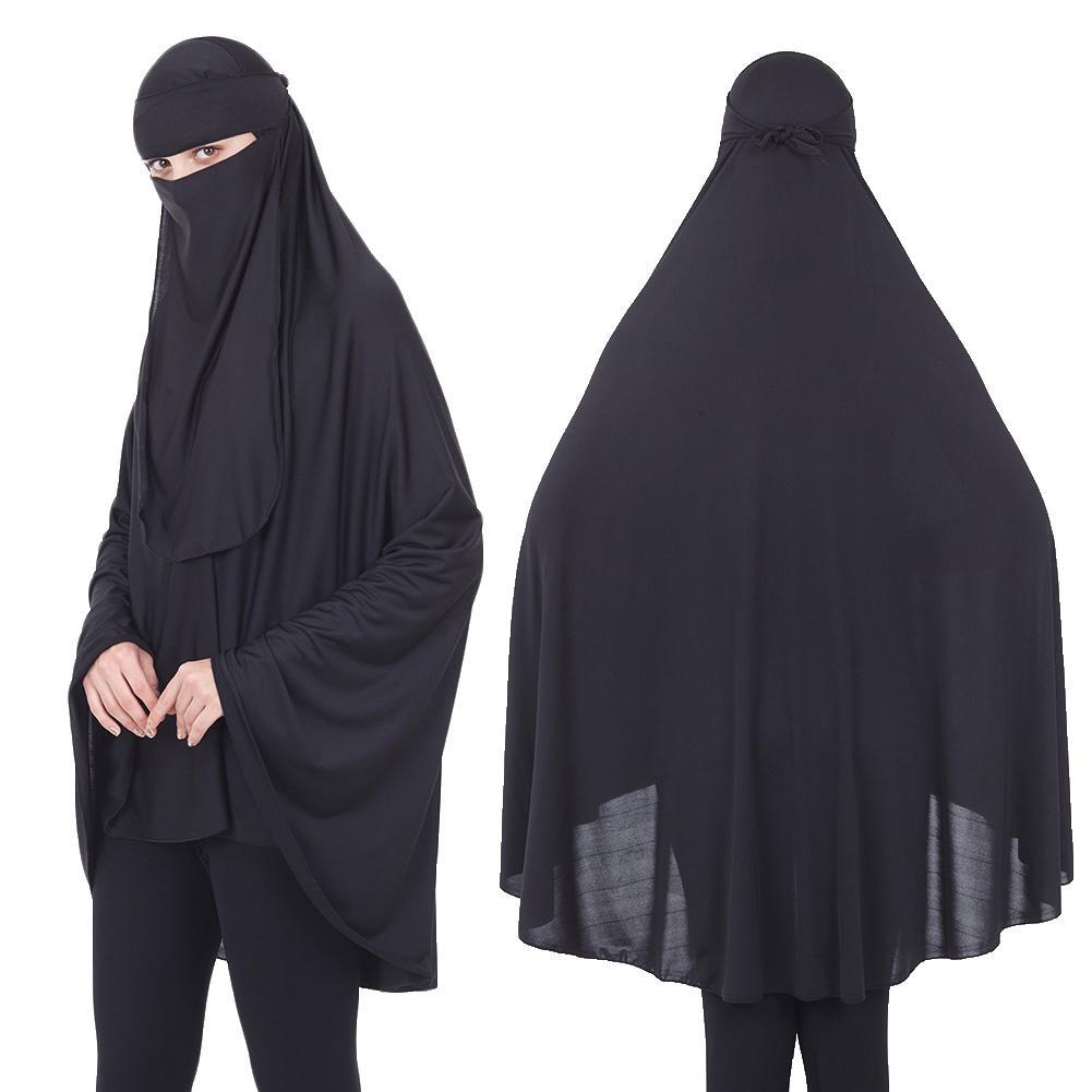 Islamic Muslim Prayer Abaya Burqa Worship Clothing With Long Niqab VeilScarf Wind And Dust Mask