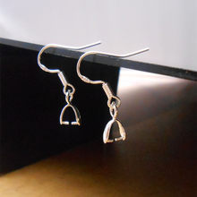 50 Uds de Plata de Ley 925 joyas DIY accesorios gancho de plata 925 para pendiente hallazgos y componentes 1,7*2,2 CM