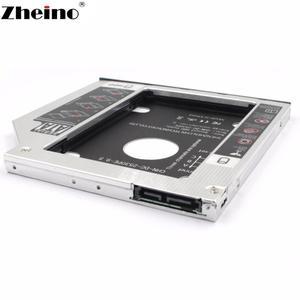 "Корпус адаптера Zheino 9,5 мм 12,7 мм 9,0 мм 2nd Caddy SATA 3,0 подходит для 2,5 ""SATA HDD SSD для ноутбука ODD DVD/CD-ROM Optibay"