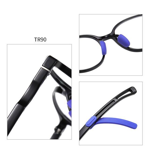 Фото детские очки с защитой от синего света tr90 для подростков регулируемой цена