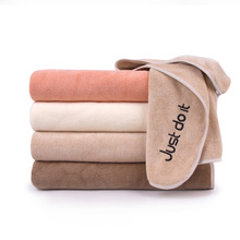 Water Absorbent Towel Swim Washcloth Bath Towel Cotton Drying Beach Towel Solid Eco-friendly Soft and Comfort face towel
